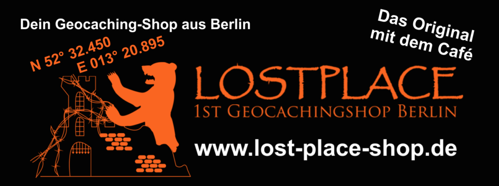 LOST PLACE - Geocaching-Shop und Café Berlin